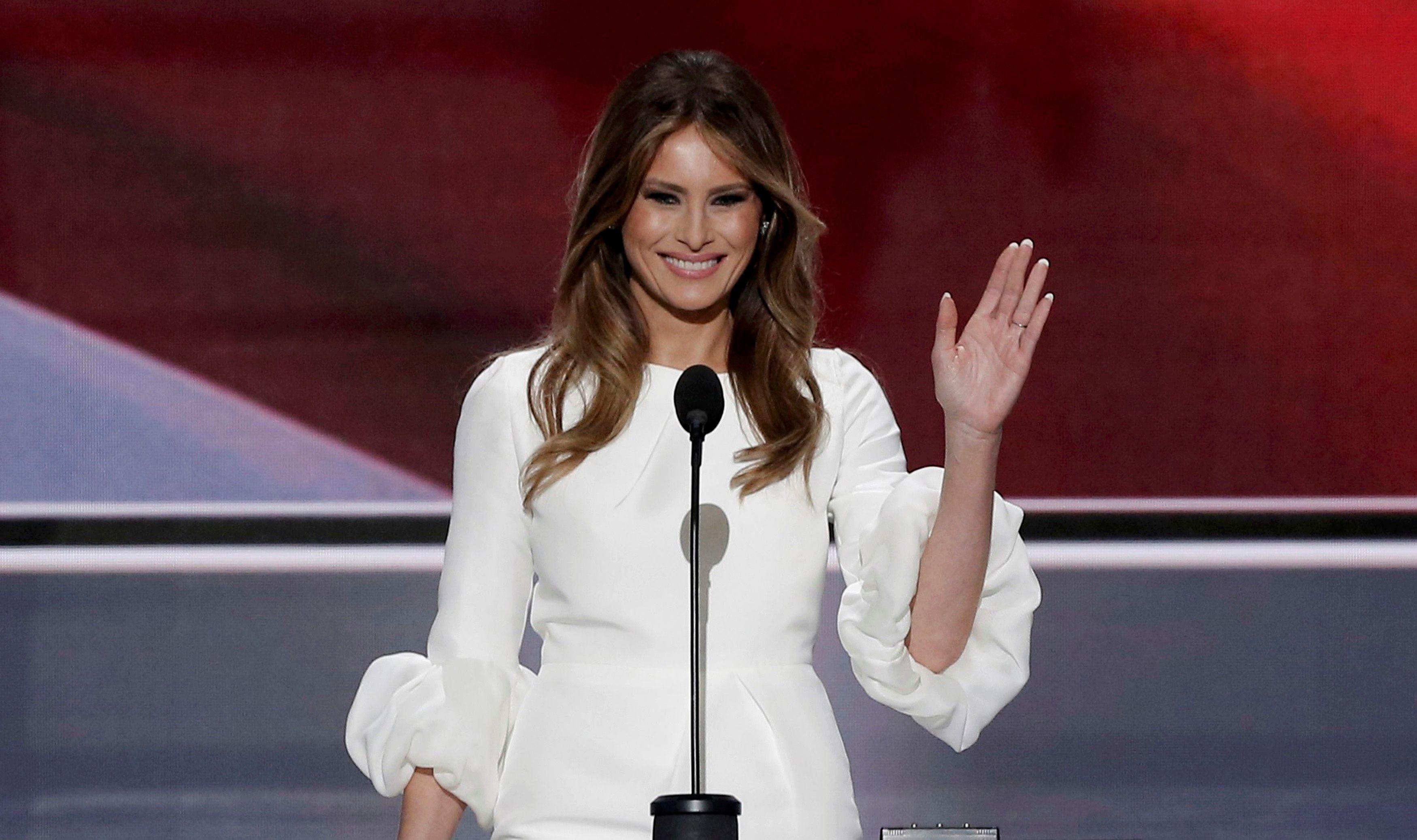 Melania Trump accusée d'avoir plagié un discours de Michelle Obama!