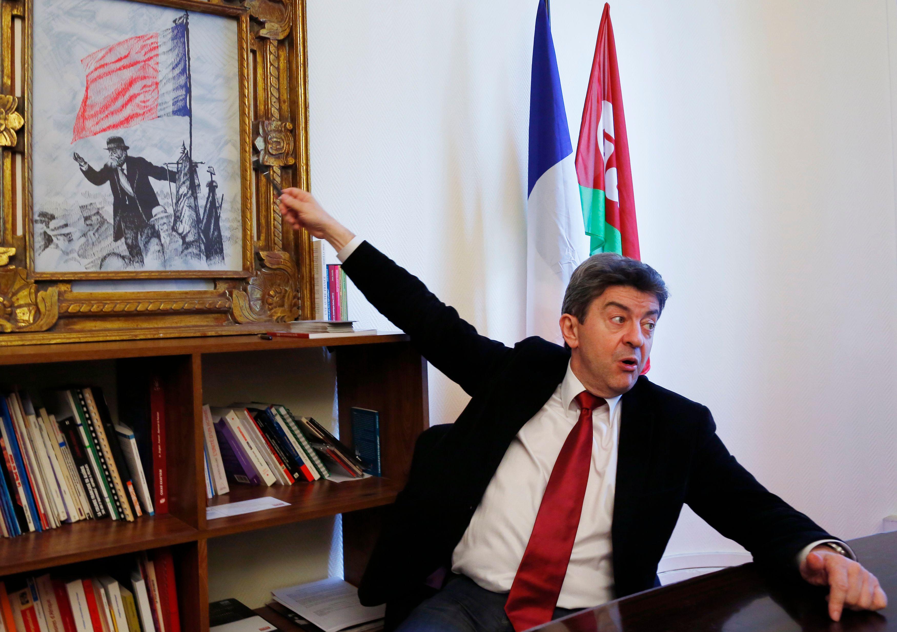 """""""Le Parti de Gauche n'existe pas en tant que tel et ne représente pas beaucoup d'élus sur le terrain."""""""