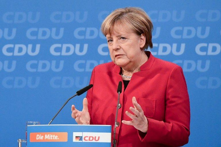 Merkel a reçu des lames de rasoir et de la poudre blanche dans son courrier