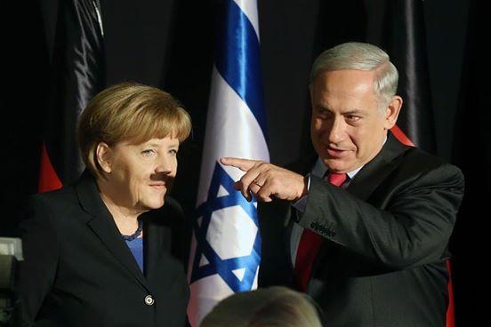 Angela Merkel et Benyamin Netanyahu : la photo gênante qui fait bondir le Net