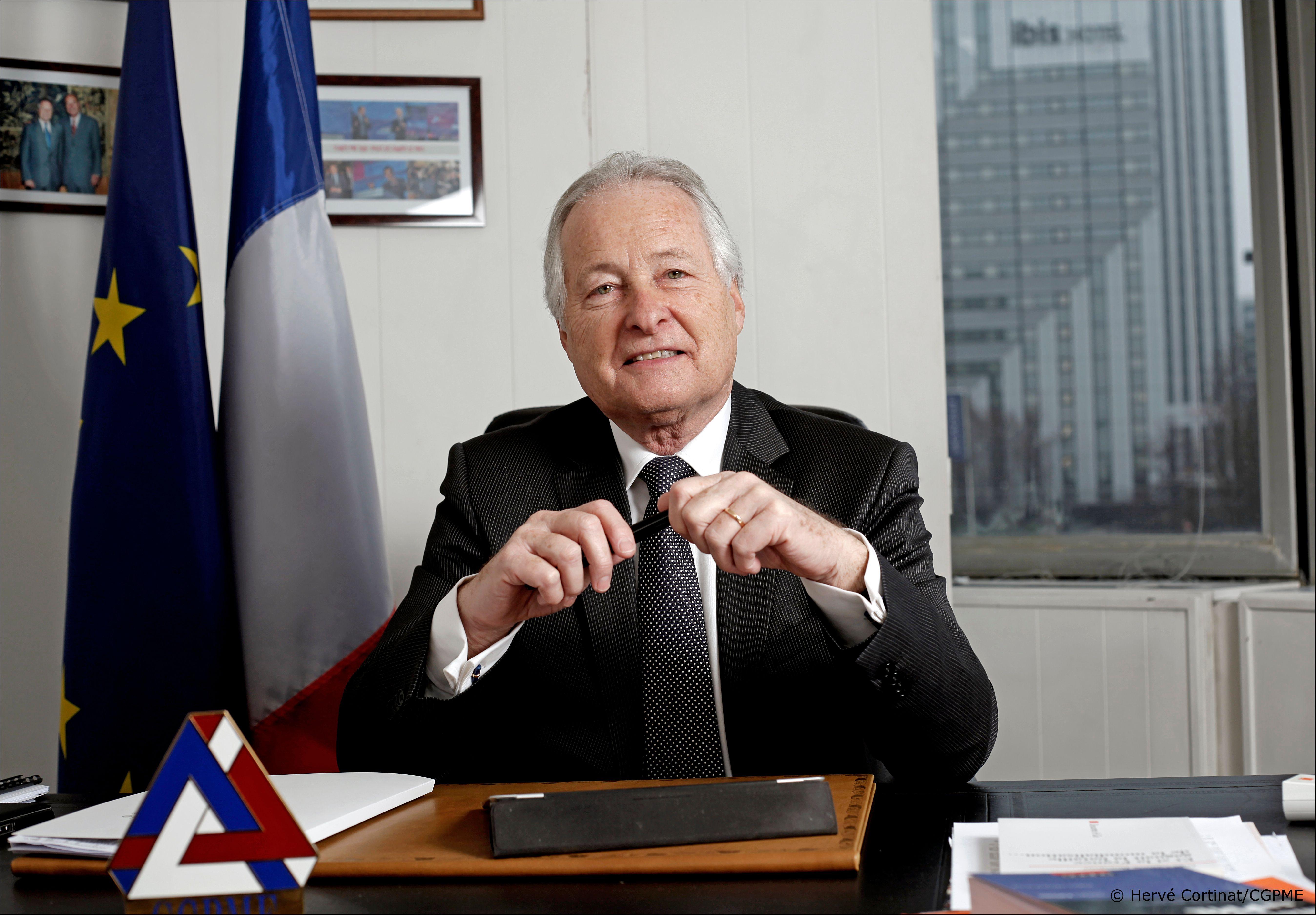 Jean-François Roubaud, président de la CGPME