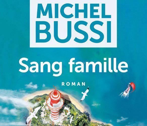 """L'ouvrage de Michel Bussi, """"Sang Famille"""", a été publié aux éditions A Vue d'Oeil, Grands caractères dans une version livre audio."""