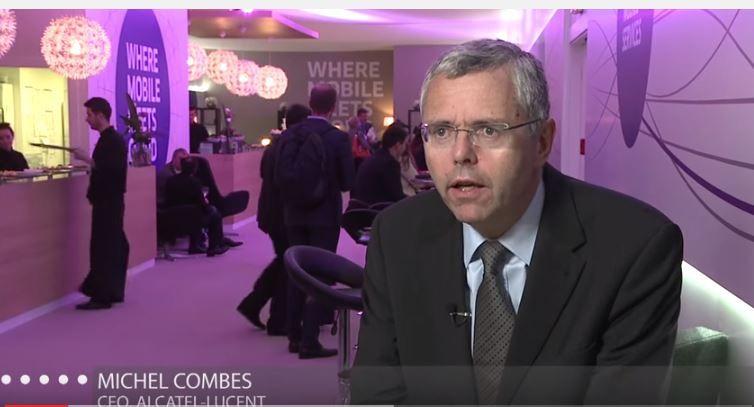 """Dans une interview aux Echos ce lundi 31 août, Michel Combes affirme être """"fier du travail accompli"""" à la tête du groupe leader dans les télécommunications et les réseaux."""