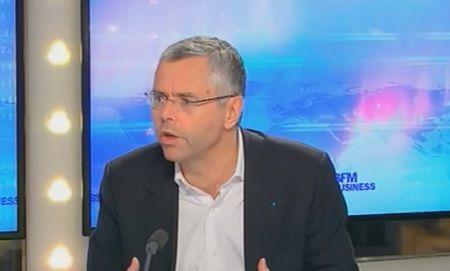 Michel Combes, directeur général d'Alcatel-Lucent. Le groupe publie ses résultats ce jeudi 6 février.