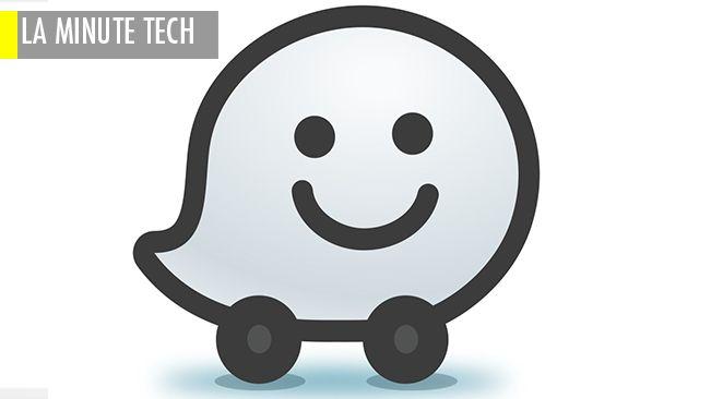 Le logo de l'application Waze.