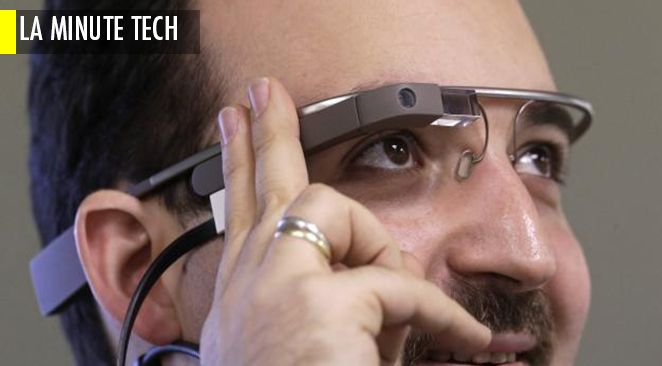 Prototype de Google Glass.