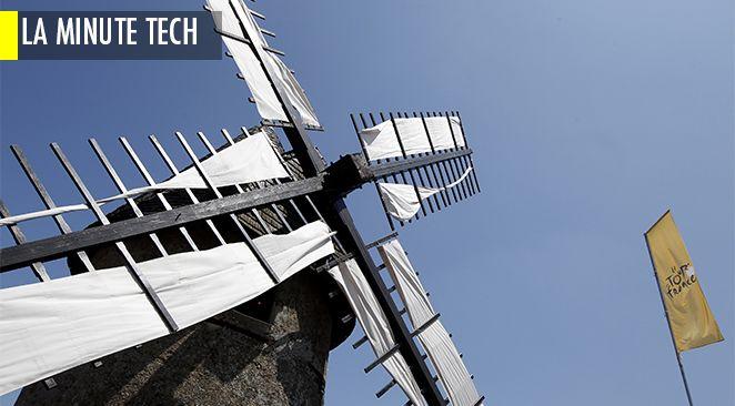 Ses micro-moulins à vent fourniront bientot assez d'énergie pour vous permettre de rallumer votre portable.
