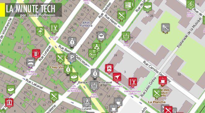 wheelmap (ou carte des roues) est l'exemple type de la carte sociale partie d'un besoin individuel, et d'utilité collective...