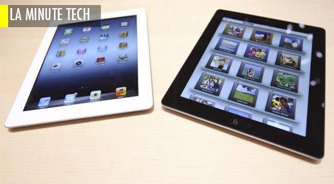 Il est possible de dicter des mémos sur iPad.