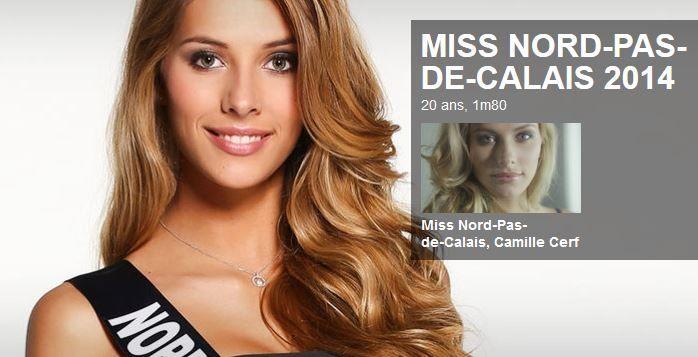 Camille Cerf a été élue Miss France 2015.