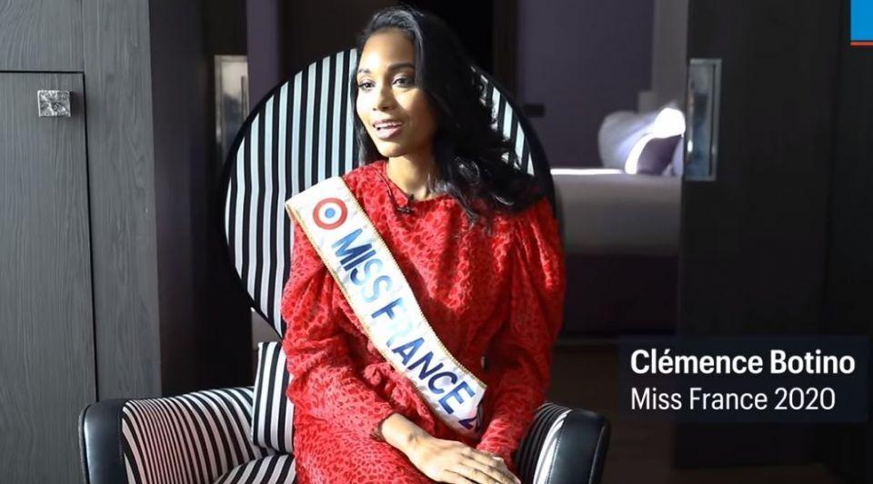Clémence Botino, Miss Guadeloupe, a été élue Miss France 2020