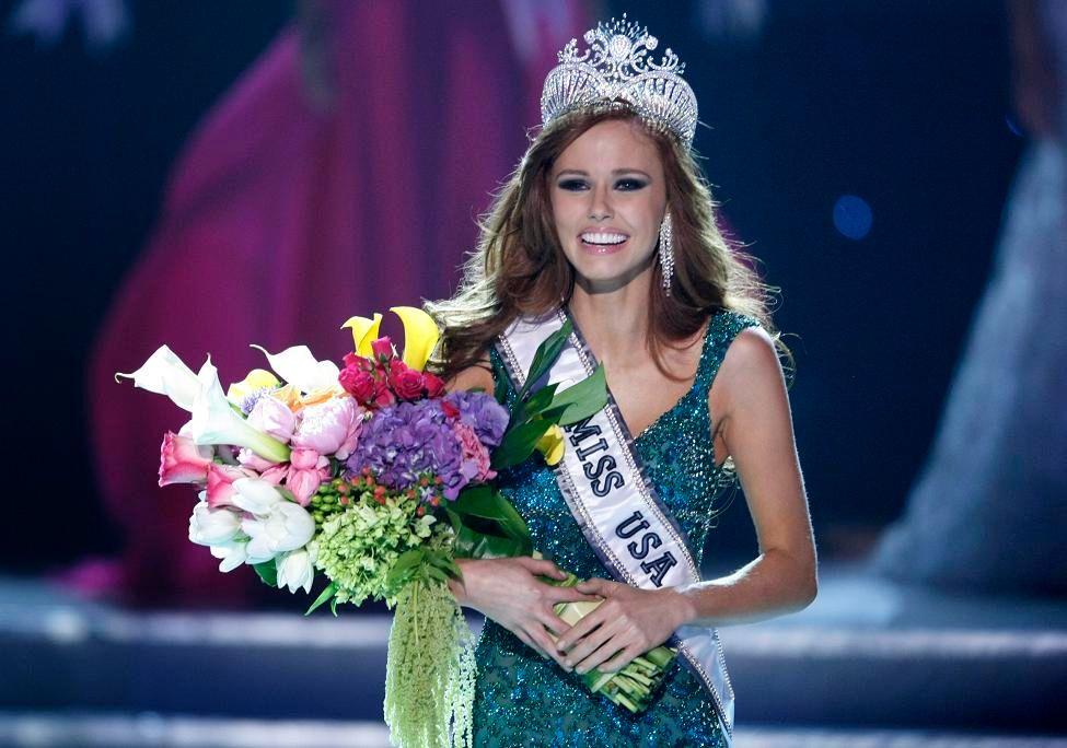 Alyssa Campanella, 21 ans, a été élue Miss USA 2011 dimanche soir.