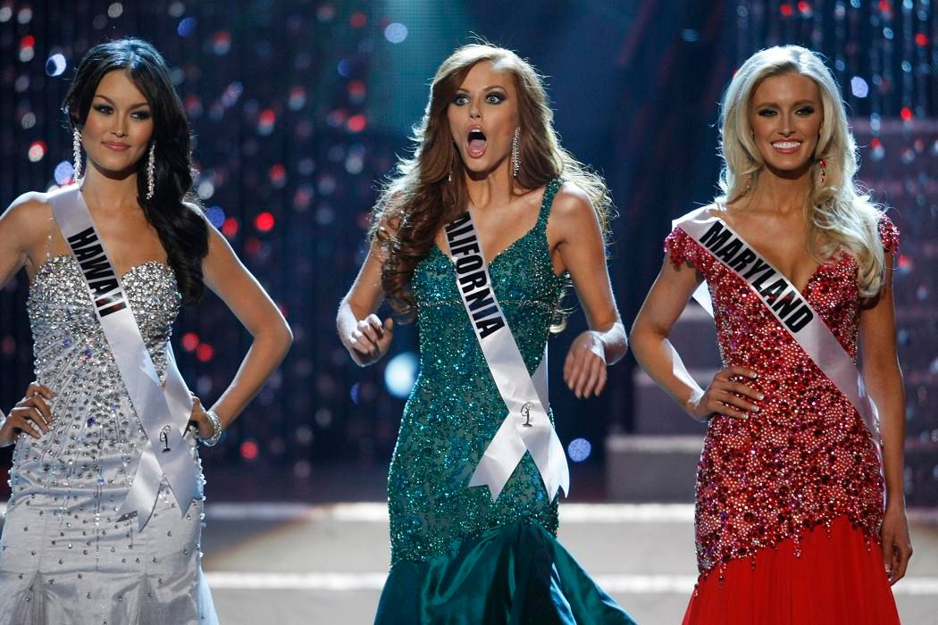 Miss Californie a été élue Miss USA ce dimanche 19 juin (au milieu).
