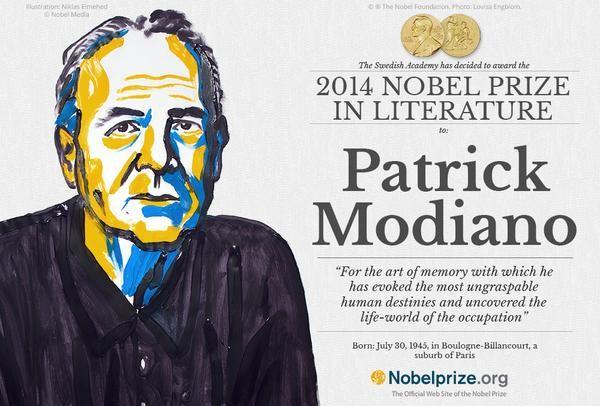 Prix Nobel de littérature : le Français Patrick Modiano couronné