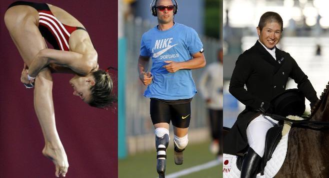 Christin Steuer, Oscar Pistorius, Kenki Sato : ces athlètes qui ne remporterons pas de médailles mais seront les stars des jeux.