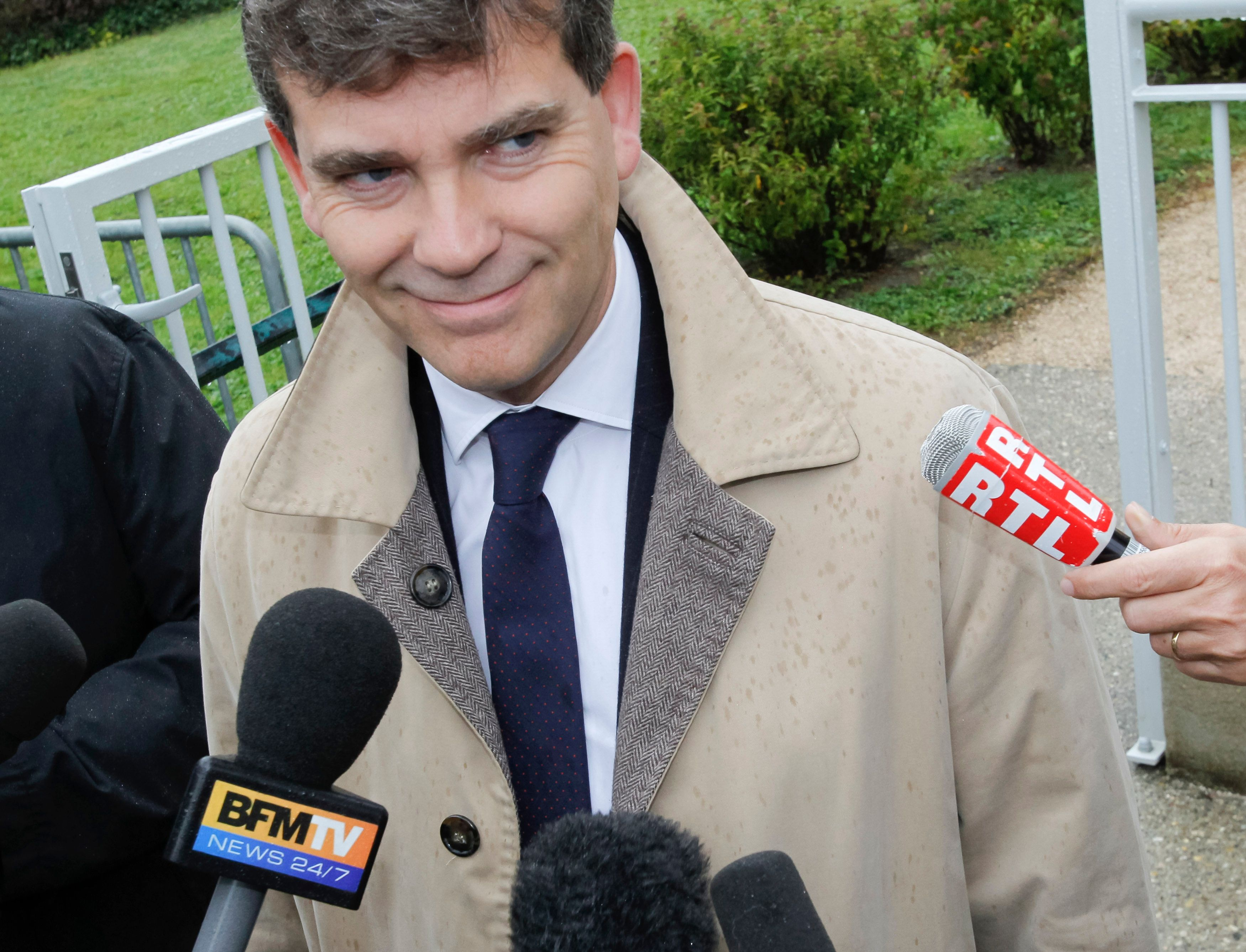 Arnaud Montebourg a réagi aux propos de Pierre Gattaz