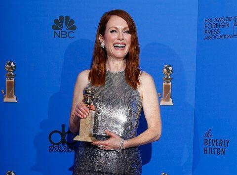 """Julianne Moore a été récompensée pour """"Still Alice"""""""