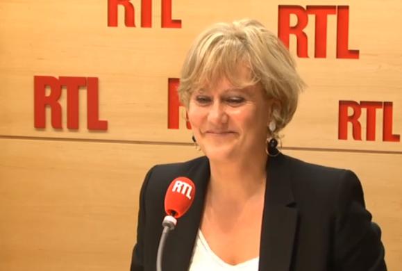 Nadine Morano soutient Nicolas Sarkozy