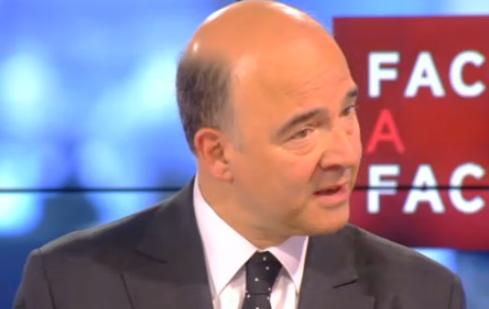 """Pierre Moscovici défend les réformes socialistes : """"La gauche ce n'est pas la dépense publique et les prélèvements obligatoires. La gauche c'est le sérieux et la justice !"""""""