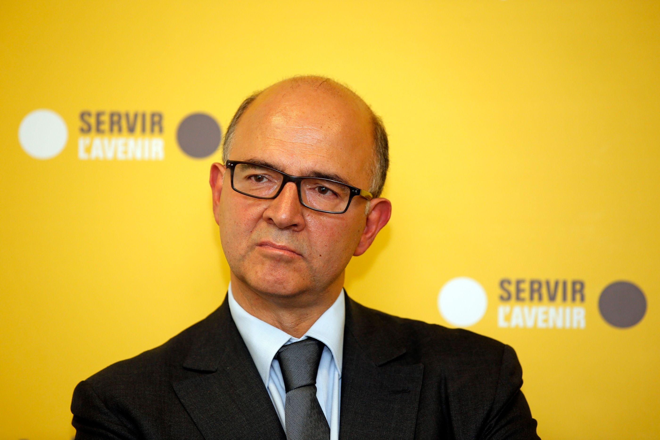 Pierre Moscovici, le ministre de l'Économie.