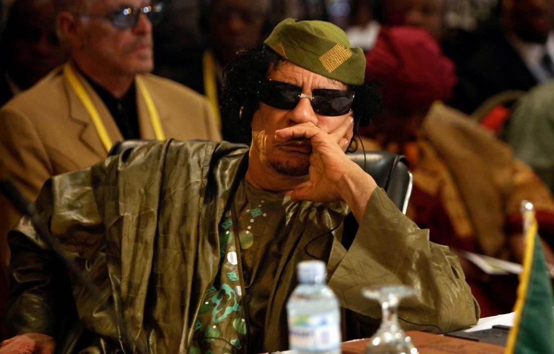 Le colonel Kadhafi aurait versé 50 millions d'euros à Nicolas Sarkozy, selon Mediapart.