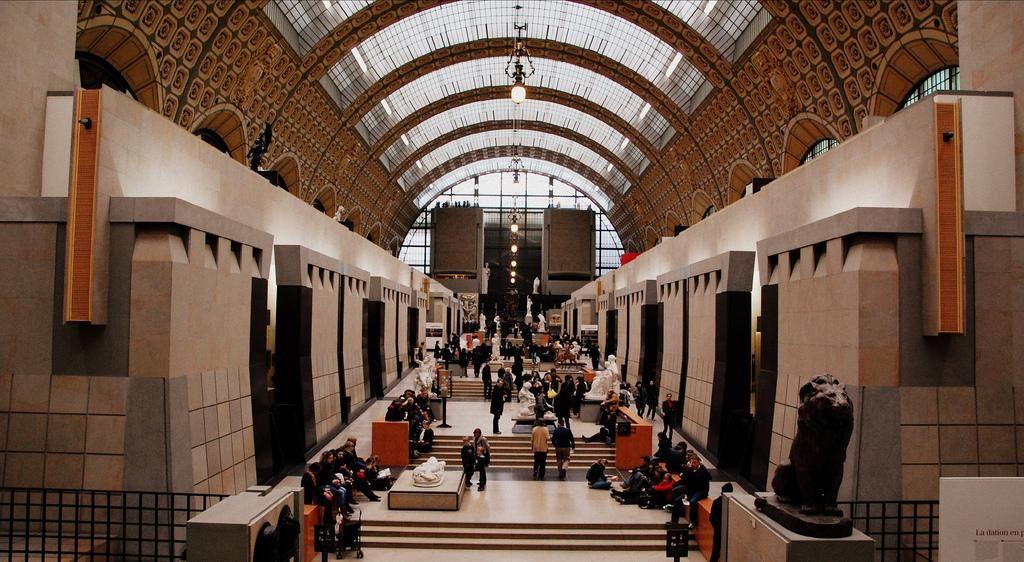 Le musée d'Orsay, en pointe sur les interdictions de photographier.
