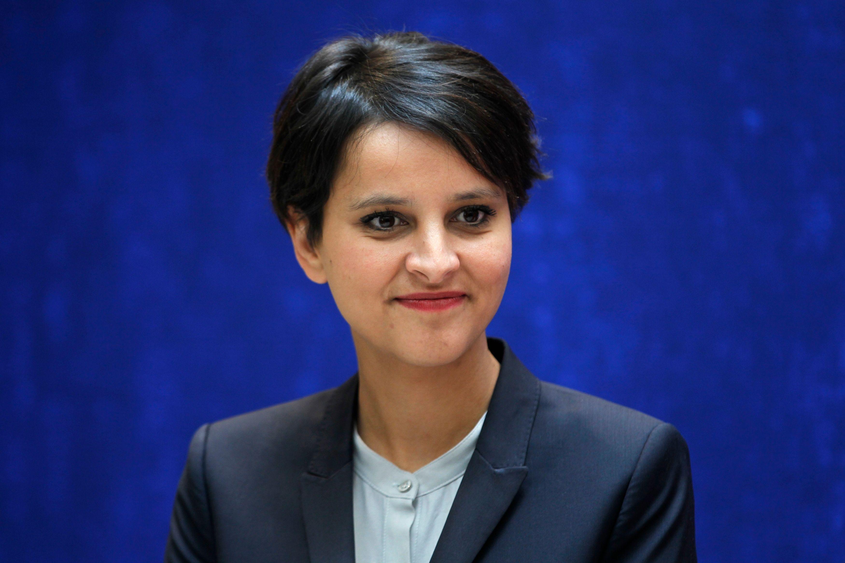 Najat Vallaud-Belkacem n'a pas été tendre avec les sénateurs de l'UMP