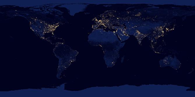 Photos Quand la NASA capture les lumières des grandes villes à près de 400 km du sol