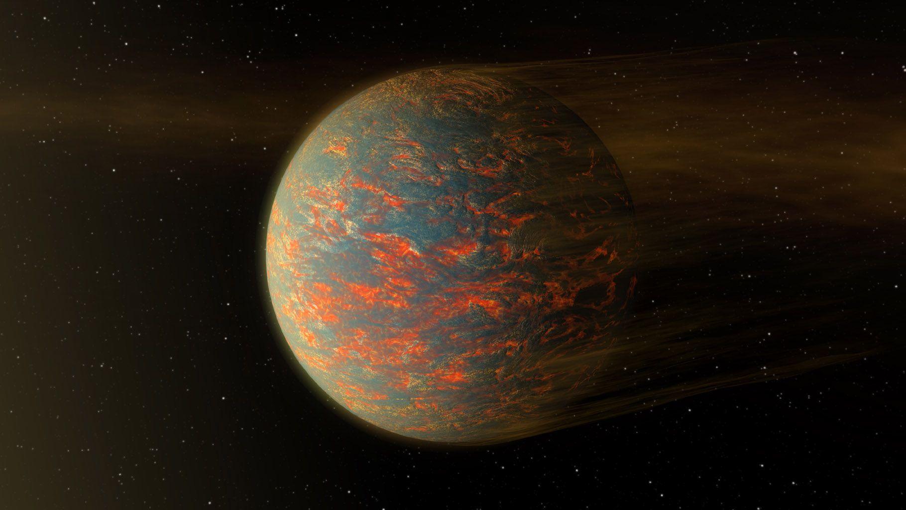 """""""55 Cancri e"""", l'étonnante planète recouverte de lave découverte par la Nasa"""