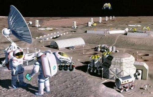Quelques scientifiques estiment qu'il faudrait construire une station lunaire munie d'un super-ordinateur.