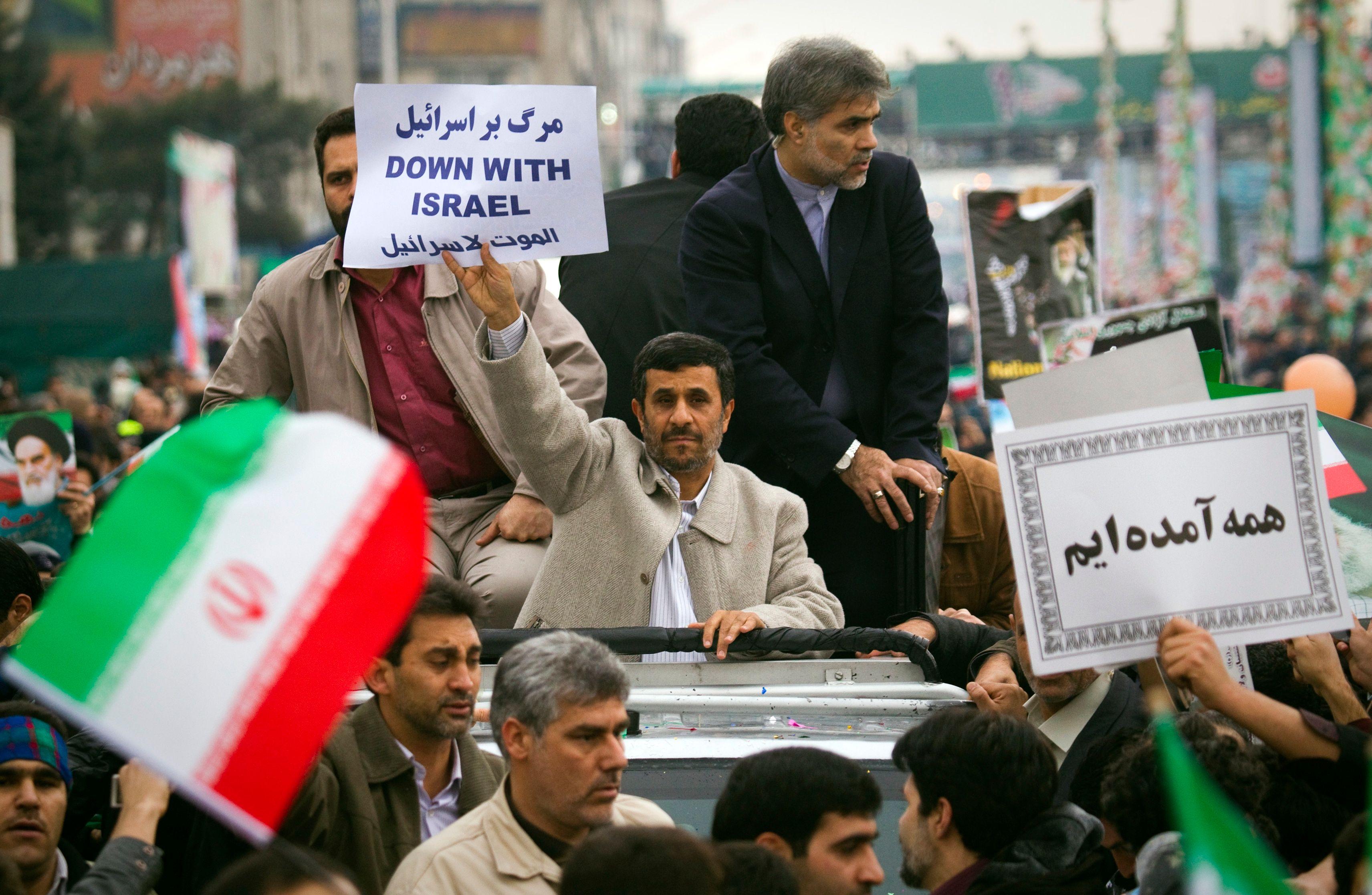 Cet événement est arrivé alors que les Etats-Unis cherchaient à gérer le programme nucléaire iranien
