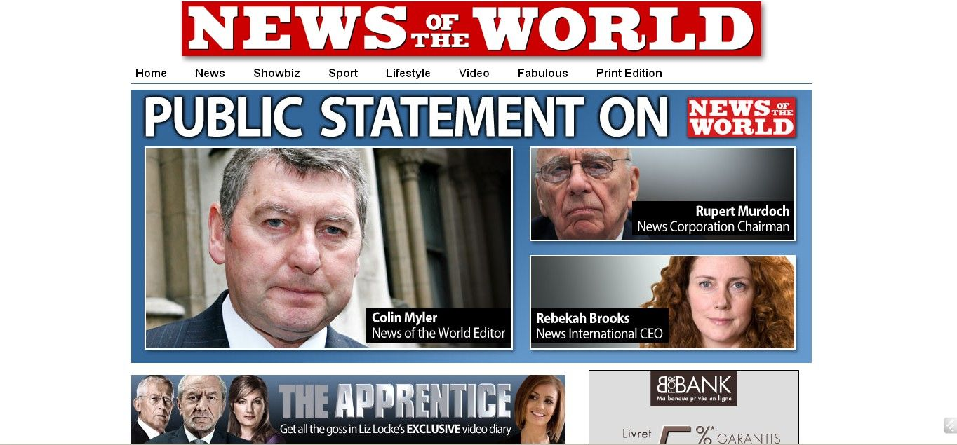 L'affaire News of the World