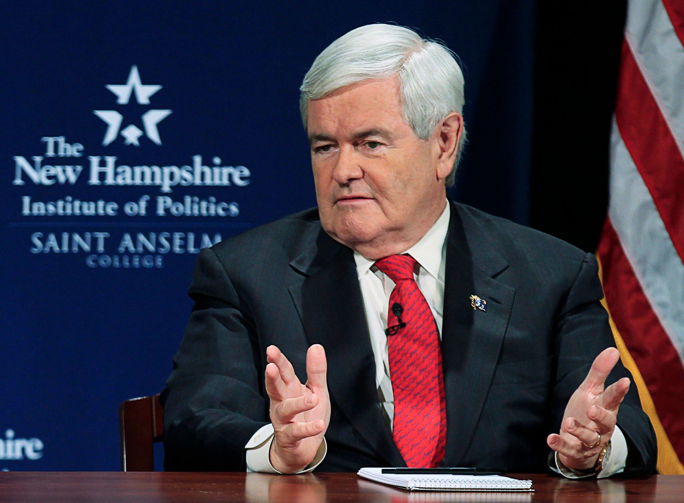 Newt Gingrich souffre d'une personnalité complexe et parfois instable.