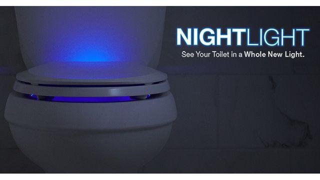 Voici les toilettes lumineuses