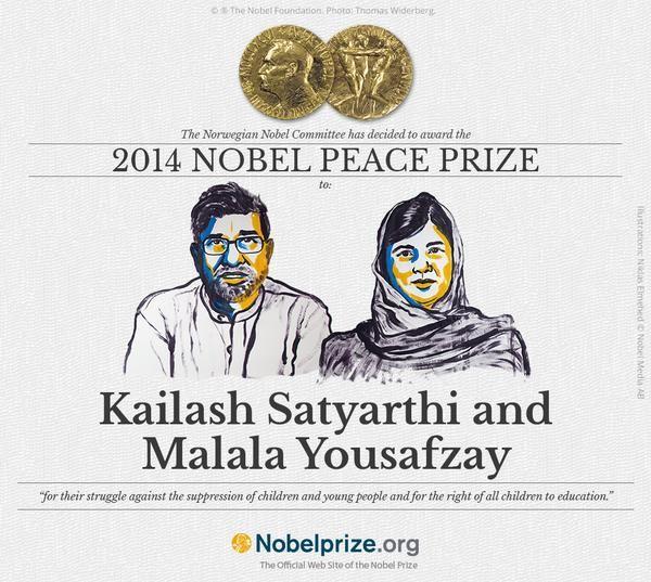 Prix Nobel de la Paix : Malala Yousafzai honorée par le Comité