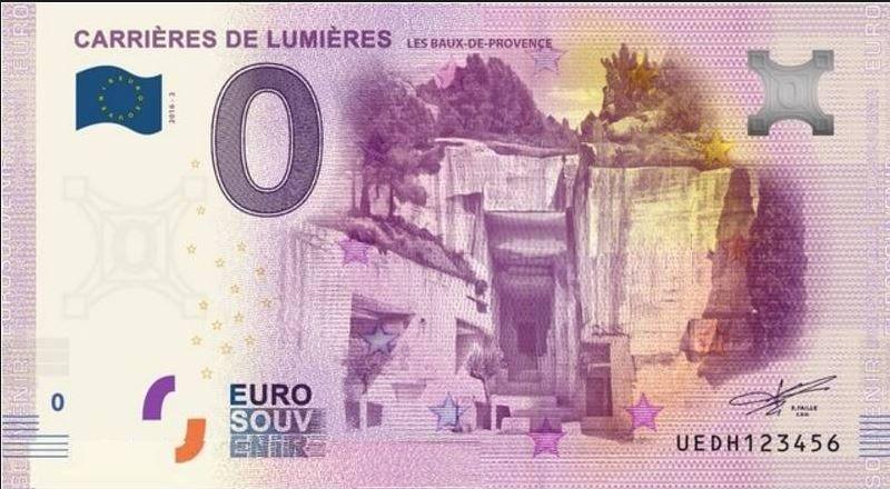 Des billets à 0 euro qui s'arrachent comme des petits pains