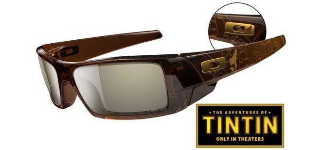 Les lunettes Oakley Gascan Tintin édition limitée