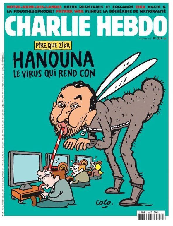 Charlie Hebdo s'en prend à Cyril Hanouna