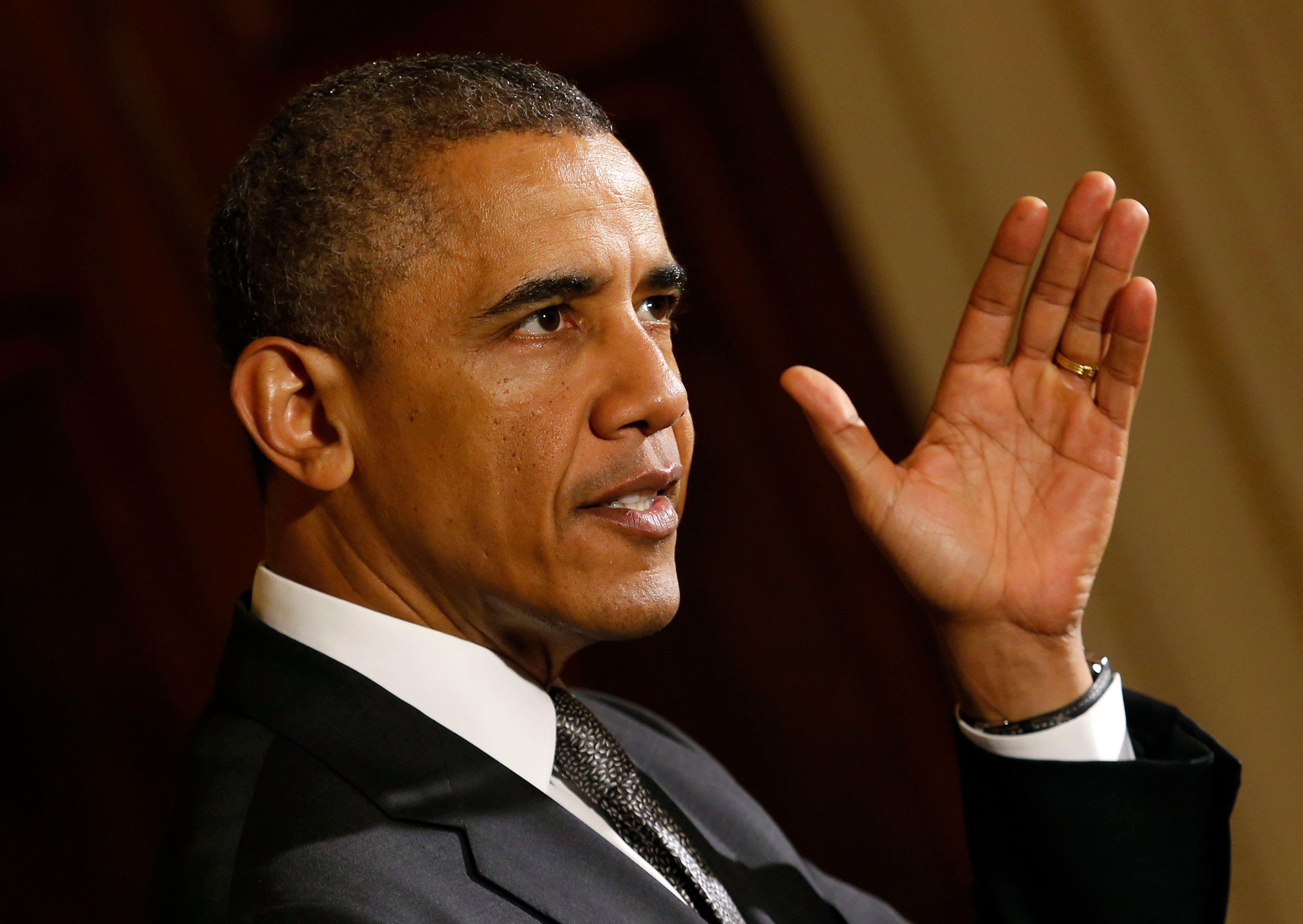 Barack Obama présente son plan contre le réchauffement climatique, François Hollande applaudit
