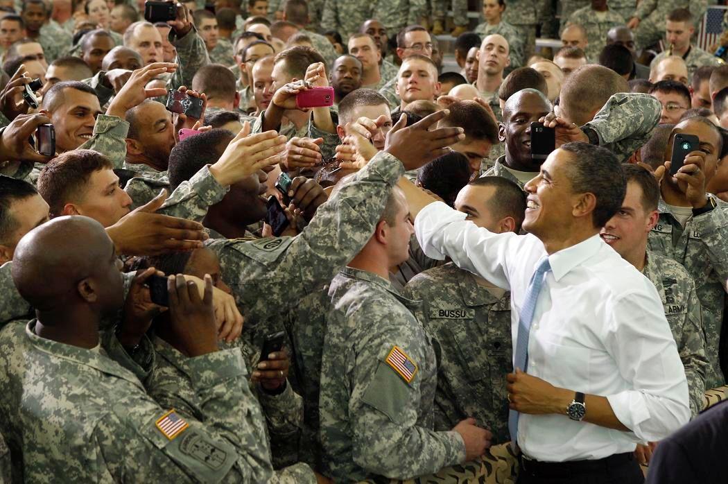 Obama et ses boysen Afghanistan