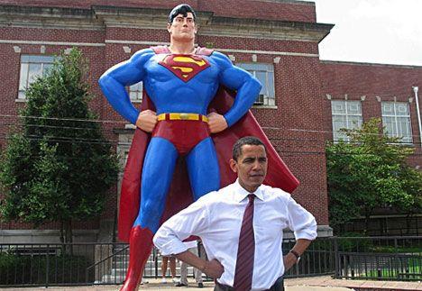 Notre nouveau super héros a éliminé le plus grand super méchant de la planète.