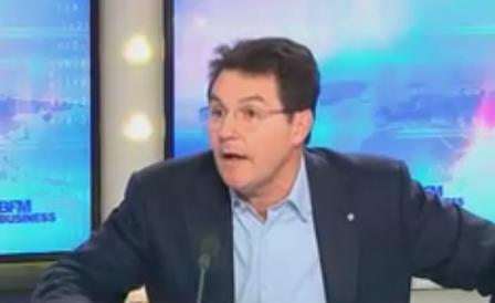 Olivier Roussat, DG de Bouygues Telecom