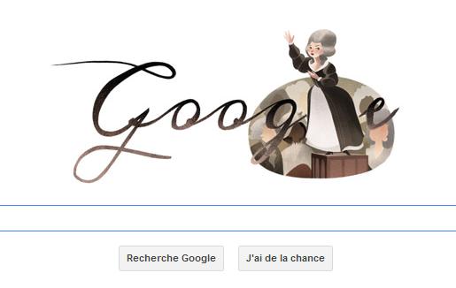 Olympe de Gouges à l'honneur sur Google