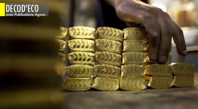 Le cours de l'or est redescendu de ses sommets.