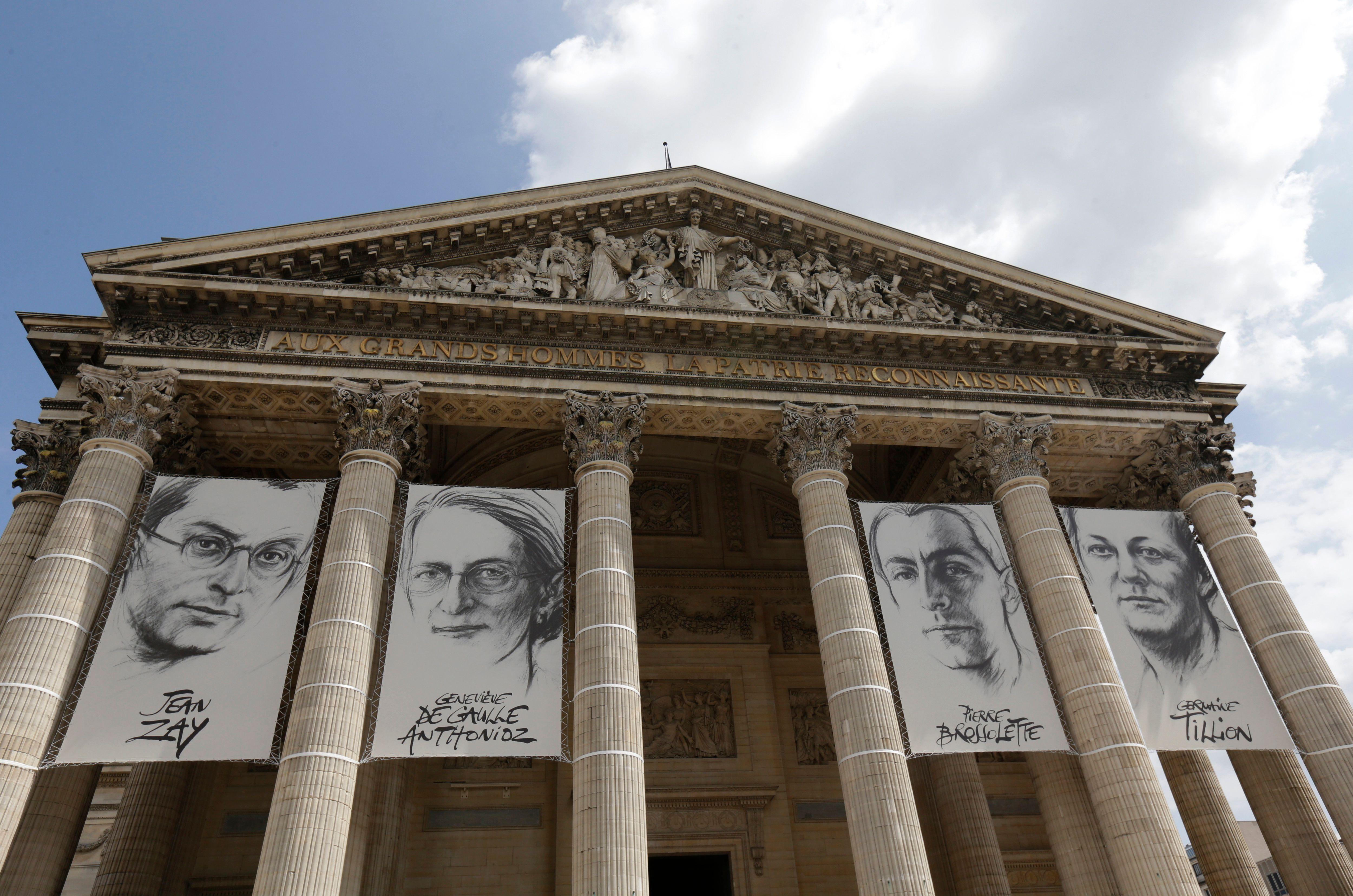 Jean Zay, Germaine Tillion, Geneviève de Gaulle-Anthonioz et Pierre Brossolette font leur entrée au Panthéon