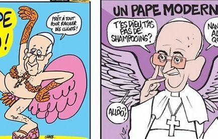 La revue jésuite Etudes publie des caricatures de Charlie Hebdo