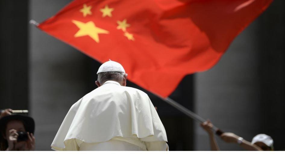 Pape François drapeau Chine Vatican