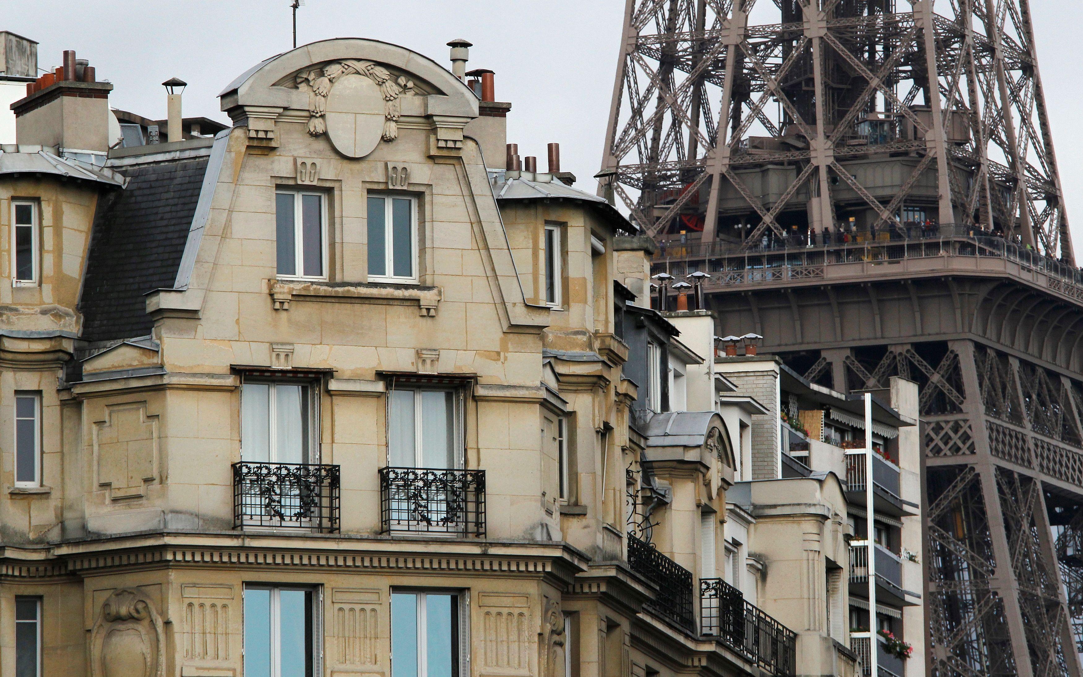Paris attire pour son luxe, notamment dans l'immobilier