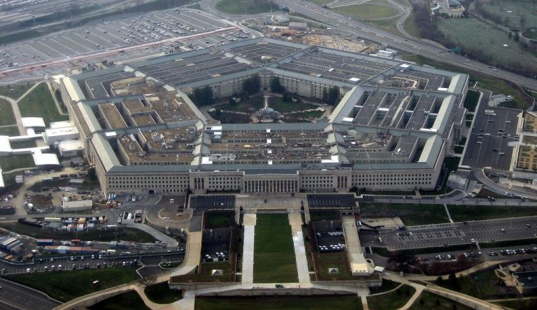 Le bâtiment du Pentagone à Washington qui abrite le ministère de la Défense américain.