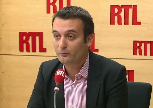 Florian Philippot, invité de RTL ce mercredi